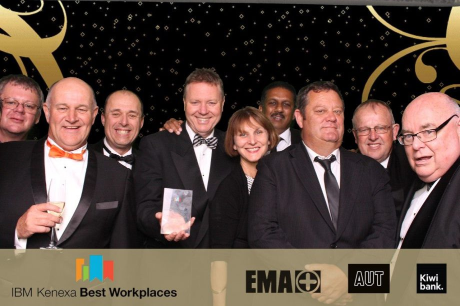 VTNZ Takes Top Enterprise Workplace Award for Third Year Running